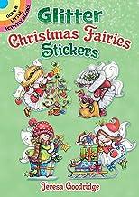 Glitter Christmas Fairies Stickers