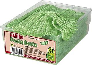 Haribo Pasta Basta Apple Sour, 150 Pieces, 1125g Tub