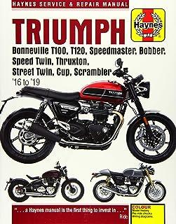 Triumph Bonneville T100, T120, Bobber, Thruxton, Street Twin, Cup & Scrambler (1