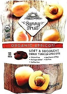 Sunny Fruit USDA Organic Dried Turkish Apricots - 32 Ounces - Gluten Free - No Sugar Added - Sulfite Free - Nut Free - Goo...