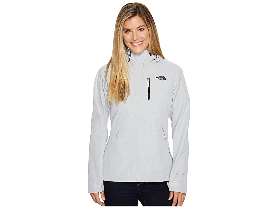 The North Face Dryzzle Jacket (TNF Light Grey Heather/TNF Black) Women