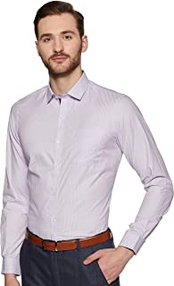Arrow Men's Striped Slim fit Formal Shirt