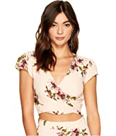 Flynn Skye - That's A Wrap Crop Flutter Top