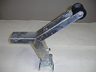 Die-matic Winch Stand, Notched w/Roller & Hardware (Galvanized)
