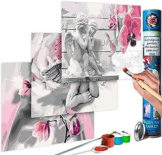 Malen nach Zahlen Erwachsene Wandbild Malset mit Pinsel Malvorlagen n-A-0196-d-a