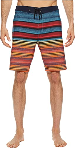 "Hurley Phantom Blackball Orange Street 20"" Boardshorts"
