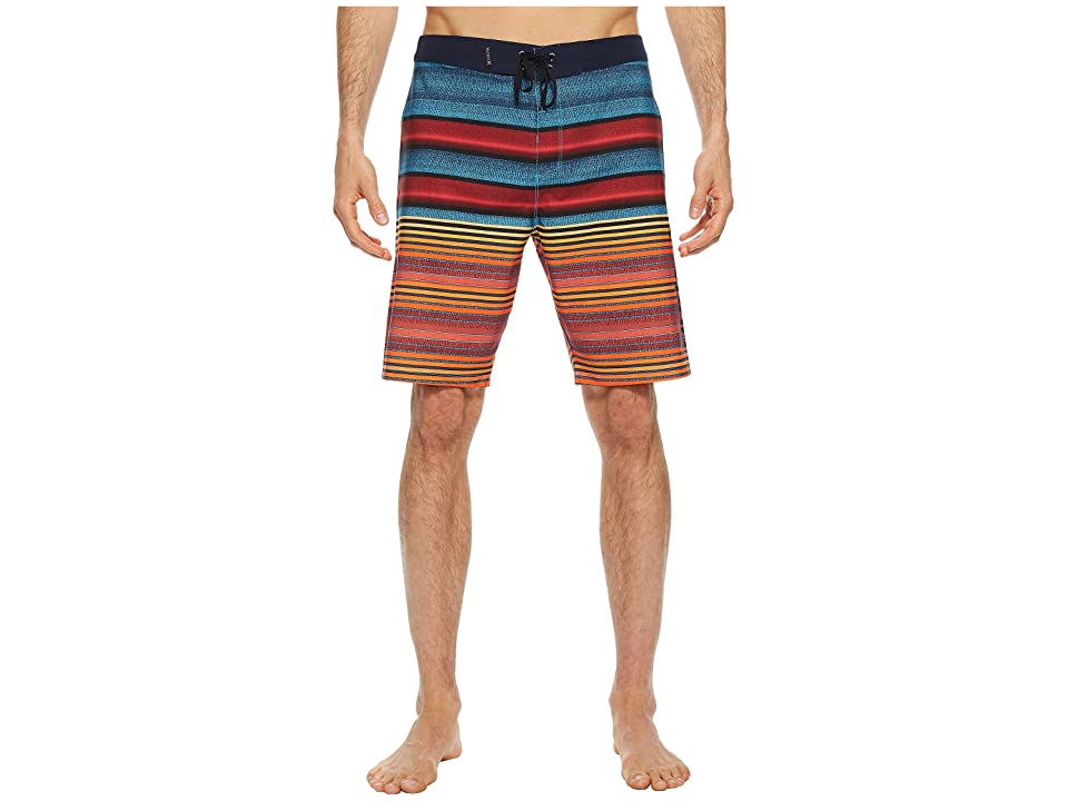 Hurley Phantom Blackball Orange Street 20 Boardshorts (Lagoon Pulse) Men