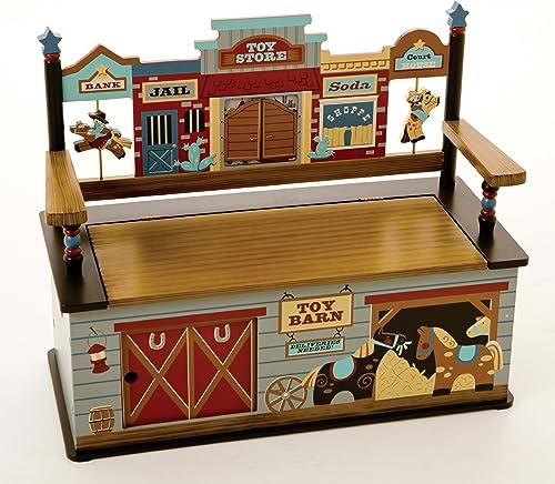 Wildkin Olive Kids Toy Box Bench
