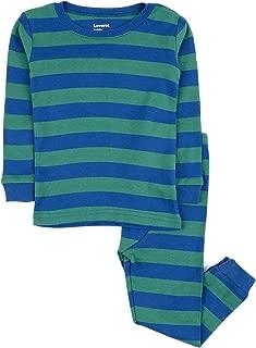 Striped Kids & Toddler Boys Pajamas 2 Piece Pjs Set 100% Cotton Sleepwear (Toddler-14 Years)