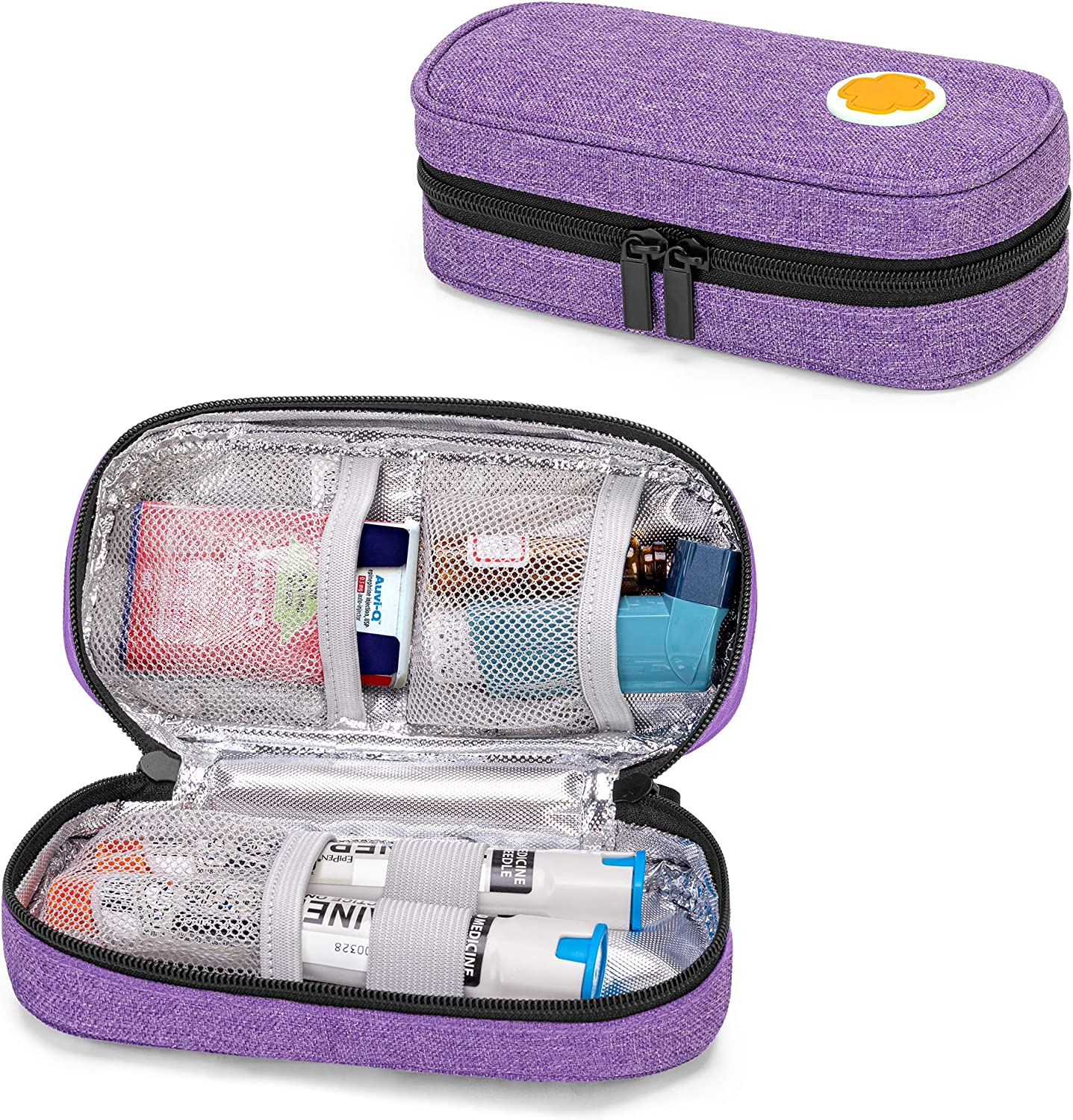 CURMIO Epipen Carrying Case for Max 49% OFF Adult Super beauty product restock quality top! Portable and Kid Medicine
