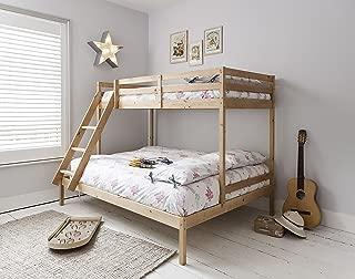 Litera con tres camas Kent en color natural, de Noa &amp