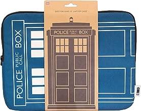 Doctor Who Homeware Tardis Laptop Case 15