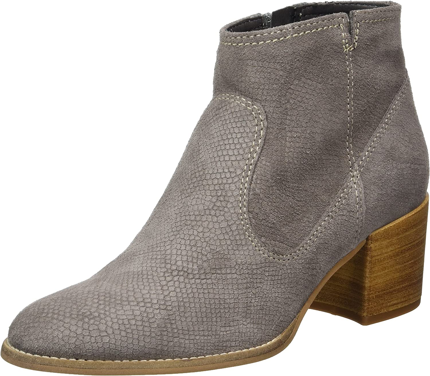 Tamaris Women's Leather Medium Heel Ankle Boot