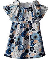 Chloe Kids - Mini Me Ruffle Floral Print Dress (Toddler)