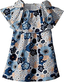 Chloe Kids Mini Me Ruffle Floral Print Dress (Toddler)