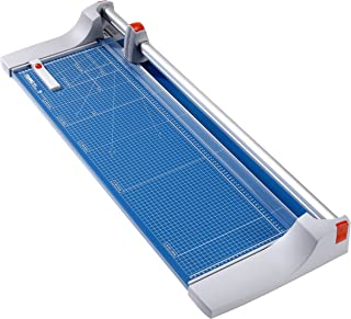 """Dahle 446 Premium Rolling Trimmer, 36 1/8"""" Cut Length, Large Format, 25 Sheet, Precision Self-Sharpening Blade, Cuts in Either Direction, Automatic Paper Clamp"""