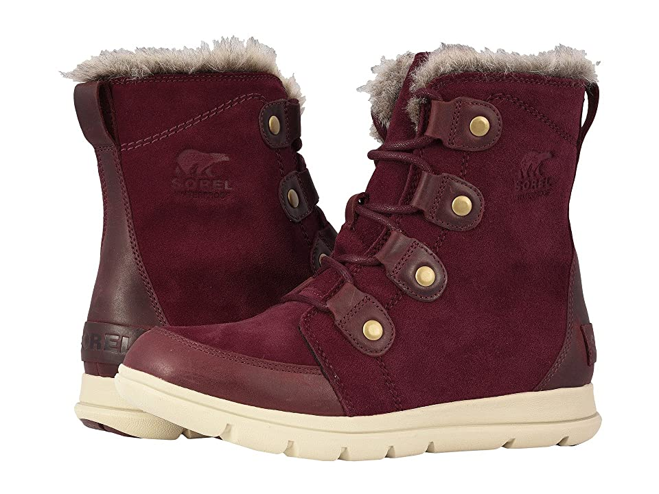 SOREL Explorer Joan (Rich Wine/Ancient Fossil) Women