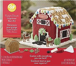barn gingerbread house