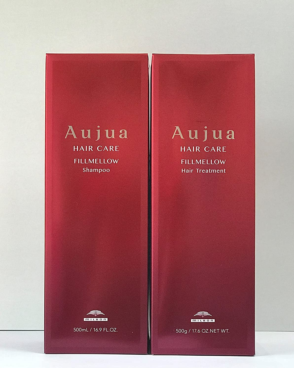 見せます付属品アコードミルボン(Aujua)オージュア フィルメロウ シャンプー&ヘアトリートメント 500ml セットAFM