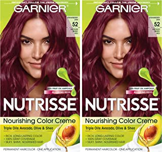 Garnier Hair Color Nutrisse nourishing hair color creme, 52 Strawberry Jam