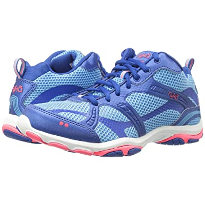 Ryka Enhance 2 (Ethereal Blue/Royal Blue/Coral Rose) Women