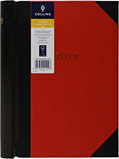 Collins 42 2019 A4 2019 Luxury 2 Pages to a Day Diary
