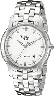 Tissot Dress Watch Mens Automatic Ballade III, Analog and Stainless Steel - T97148331