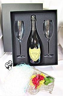 高級シャンパーニュ専門店銀座商会がご提供する Dom Perignon Vintage 2010 750ml Flute Glasses Set 【正規代理店商品】(ギフトボックス入り) ドンペリ 2010 フルートグラスセット