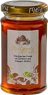 Griechischer Honig aus Zitronen und Orangenblüten von Meligyris | Reiner unvermischter kretischer Honig 300