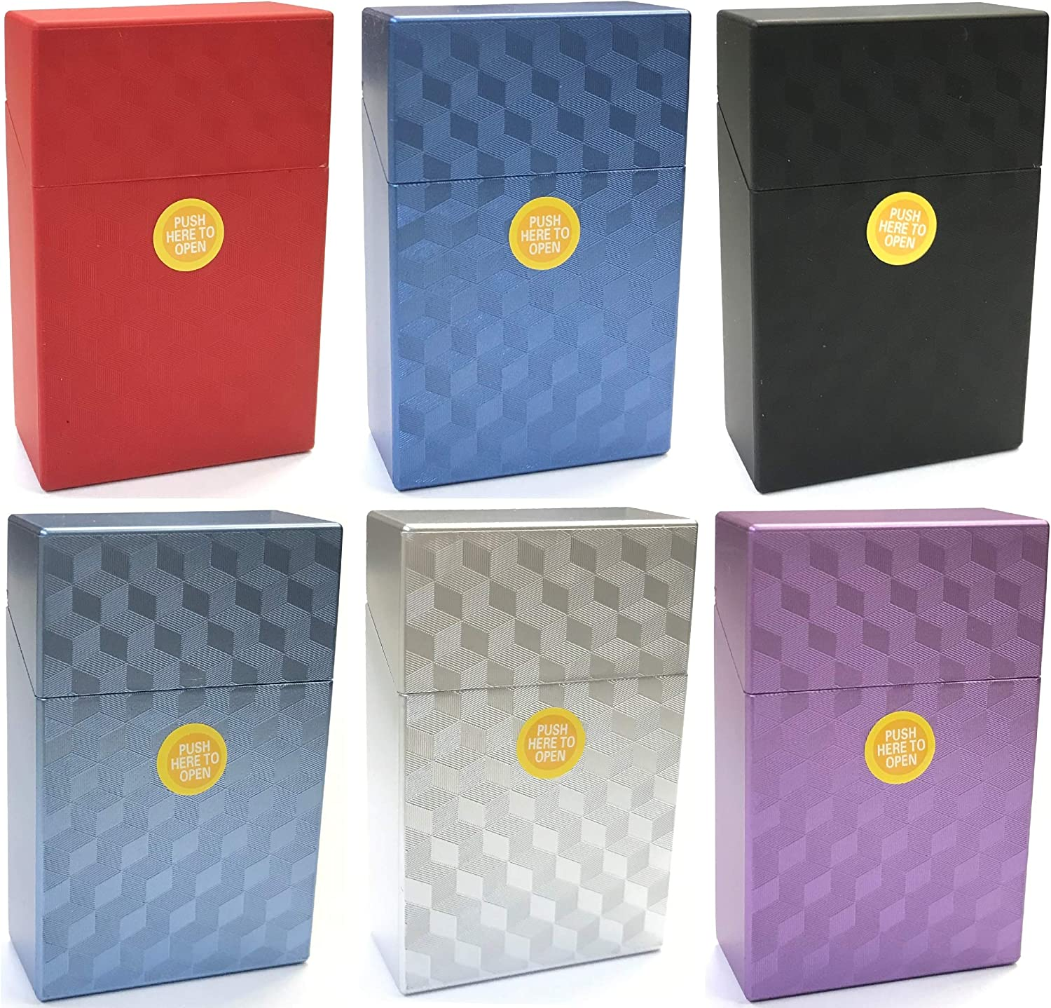HHB Eclipse Assorted Cube Designs C Cigarette Cheap mail Max 45% OFF order specialty store Crushproof Plastic