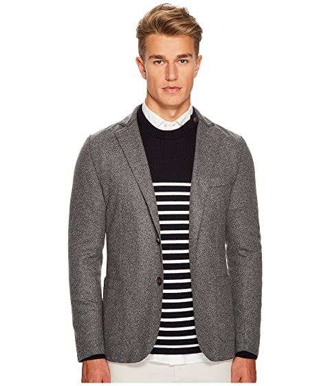 eleventy Laser Cut Flannel Jacket