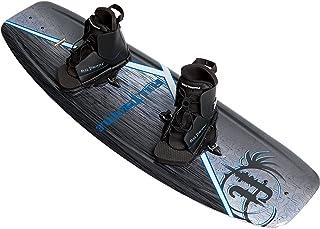 Full Throttle Aqua Extreme Wakeboard Kit (Black/Blue, 55.1 x 21.6-Inch/ 140cm x 42cm)