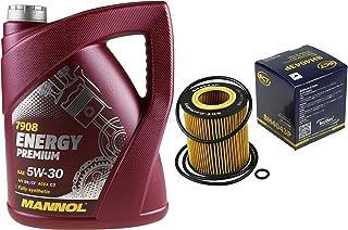 Filter Set Inspektionspaket 5 Liter MANNOL Motoröl Energy Premium 5W 30 API SN/CF SCT Germany Ölfilter
