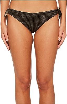Luli Fama - Havana Nights Cayo Hueso Bandana Tie Reversible Seamless Moderate Bikini Bottom