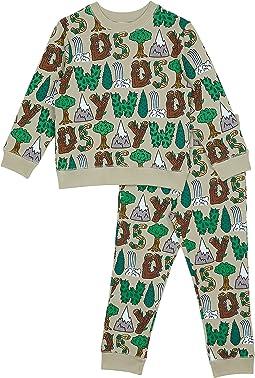 Stay Wild Tracksuit (Toddler/Little Kids/Big Kids)