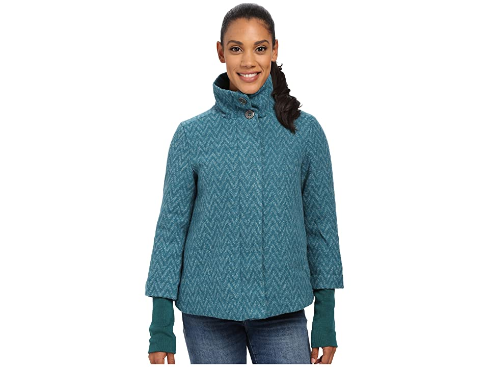 Prana Lily Jacket (Deep Teal) Women
