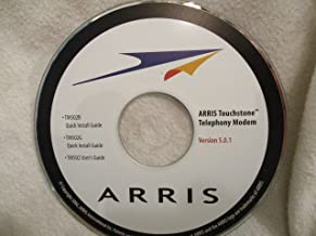 Arris TM502B and TM502G Touchtone Telephony Modem Software Cd version 5.0.1