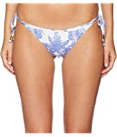 Letarte - Elephant Print Tie Side Bottoms