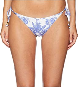 Elephant Print Tie Side Bottoms