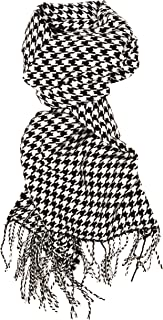 Best houndstooth black and white scarf Reviews