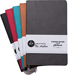 GLP Creations The Author Tomoe River Notebook (Black/Lined)