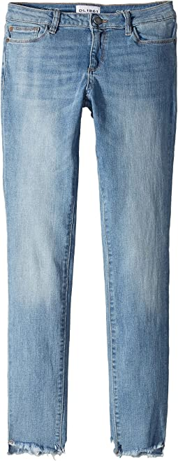 DL1961 Kids Chloe Skinny Jeans in Ocean Drive (Big Kids)