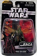 Star Wars The Saga Collection Episode II Attack of The Clones 4 Inch Action Figure - Poggle The Lesser With VARIANT Exclusive Darth Maul Hologram Figure