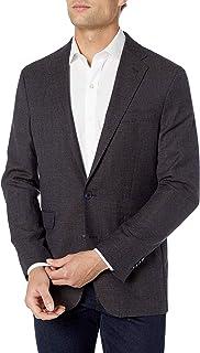 Cole Haan Men's Slim Fit Blazer, Blue tic, 44R