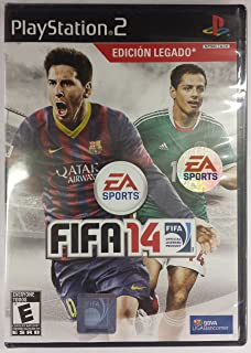 Fifa 14 Soccer for Playstation 2 Ps2 (Ntsc Version Spanish Cover Works in USA System Plays in English)