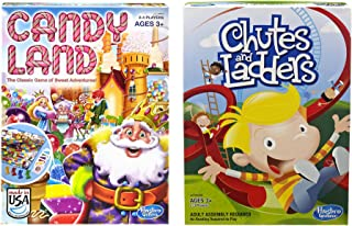 Hasbro Candyland and Chutes and Ladders Board Games