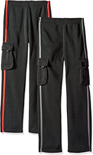 CB Sports Boys' 2 Pack Active Sport Pant