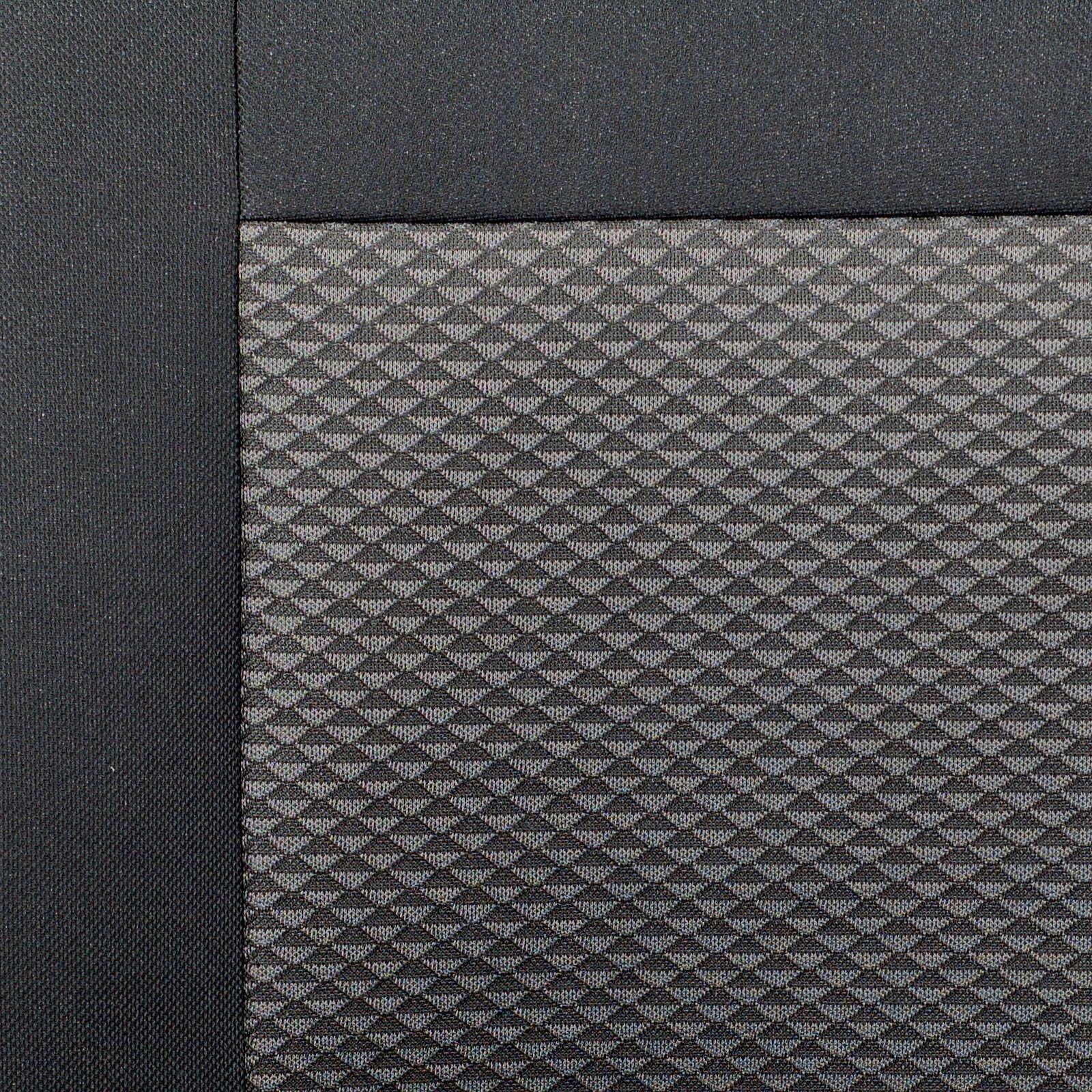 Zakschneider Fundas De Asiento para CX5 Funda Delantera Sill/ón del Conductor Color Premium Negro Gris Efecto 3D
