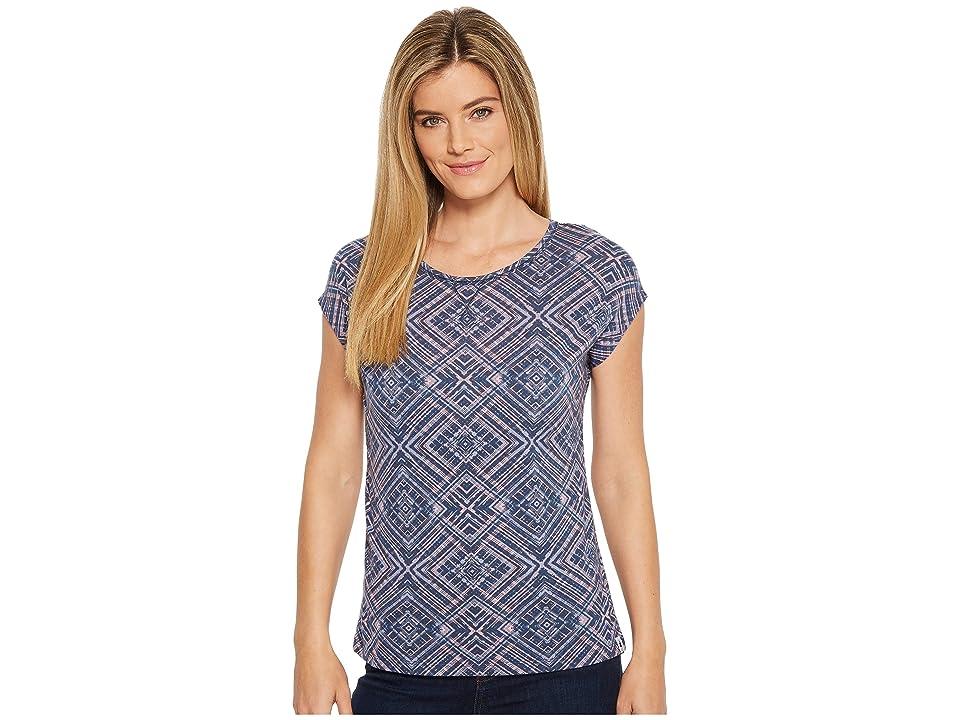 Smartwool Merino 150 Pattern Tee (Dark Blue Steel) Women