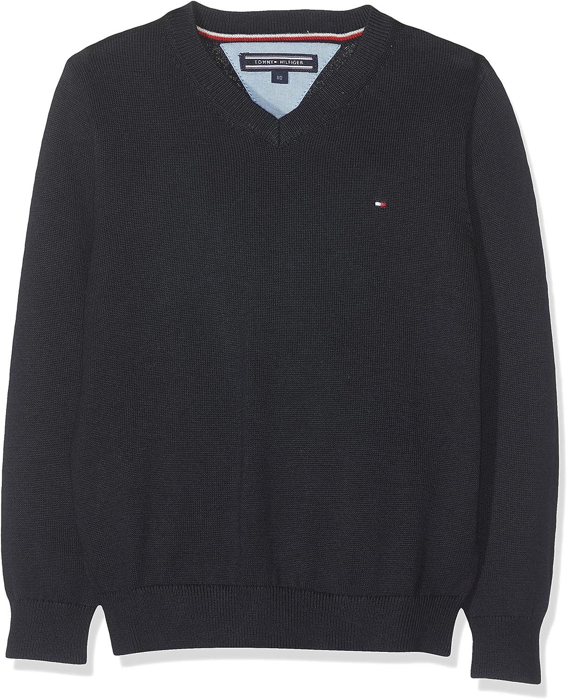 Tommy Hilfiger Boys Basic V-Neck Sweater Jumper